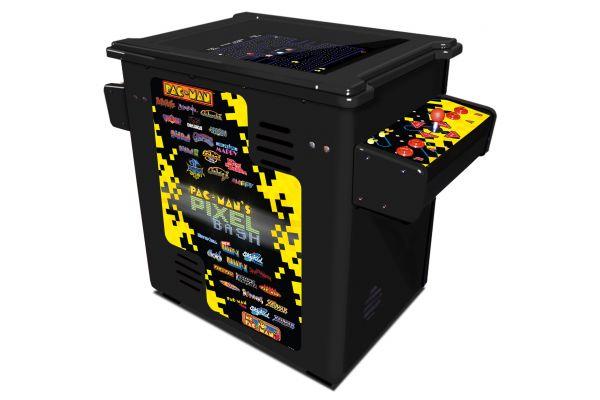 Large image of Namco Pixel Bash Black Cocktail Arcade Machine - PX01-19850-10