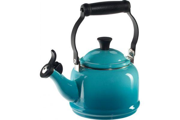 Large image of Le Creuset 1.25 Qt. Demi Caribbean Tea Kettle - Q9401-17