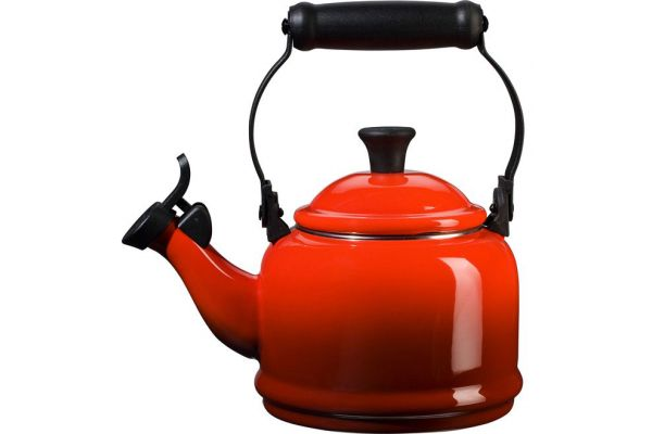 Large image of Le Creuset 1.25 Qt Demi Tea Kettle - Red Finish - Q9401-67