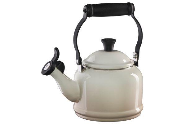 Large image of Le Creuset 1.25 Quart Meringue Demi Tea Kettle - Q9401-716