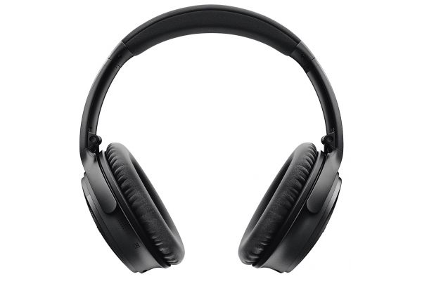 Large image of Bose Black QuietComfort 35 Wireless Headphones II - 789564-0010