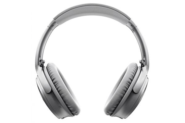 Large image of Bose Silver QuietComfort 35 Wireless Headphones II - 789564-0020