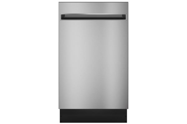 "Large image of Haier 18"" Stainless Steel Dishwasher With Sanitize Cycle - QDT125SSLSS"