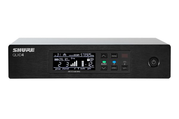 Shure Single Channel Digital Wireless Receiver - QLXD4-G50BAND