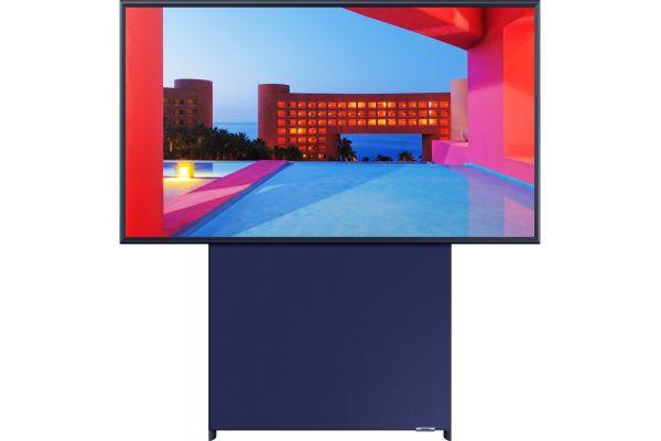"Large image of Samsung 43"" The Sero TV Black QLED 4K UHD Smart HDTV - QN43LS05TAFXZA"