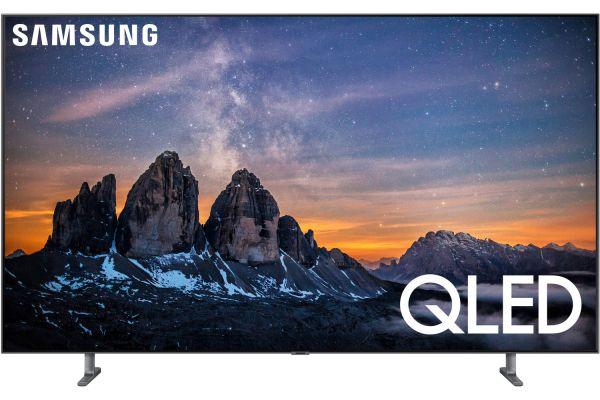 "Samsung 55"" Q80R Carbon Silver QLED 4K UHD Smart HDTV - QN55Q80RAFXZA"