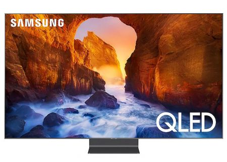"Samsung 65"" Q90R Carbon Silver QLED 4K UHD Smart HDTV - QN65Q90RAFXZA"