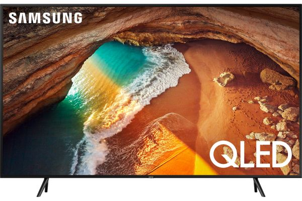 "Samsung 55"" QLED Q60R Charcoal Black QLED 4K UHD Smart TV - QN55Q60RAFXZA"