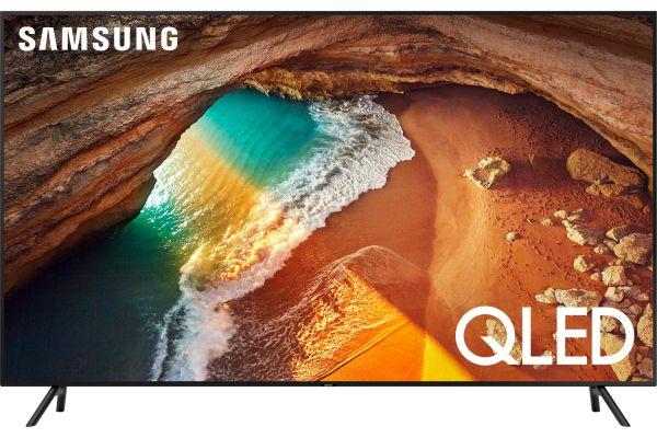 "Large image of Samsung 82"" QLED Q60R Charcoal Black QLED 4K UHD Smart TV - QN82Q60RAFXZA"