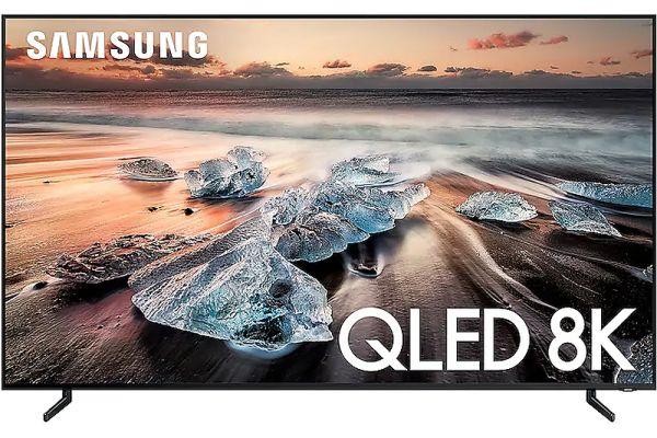 "Samsung 65"" Q900 Black QLED 8K UHD Smart HDTV - QN65Q900RBFXZA"