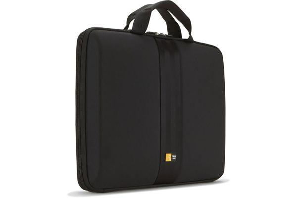 "Large image of Case Logic 13.3"" Black Laptop Sleeve - QNS113BLACK"
