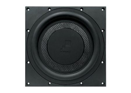In Wall Subwoofer >> Sonance Black Reference In Wall Subwoofer 93354