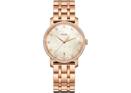Rado Diamaster M Quartz Diamond Womens Watch - R14096903