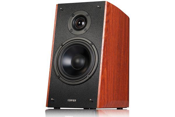Large image of Edifier Wood Powered Bluetooth Bookshelf Speakers (Pair) - R2000DW