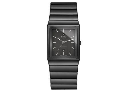 Rado Ceramica Automatic L Black Mens Watch - R21808152