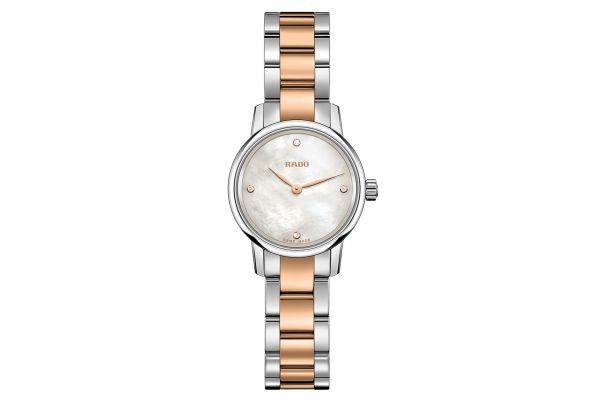 Rado Coupole Classic Two Tone Womens Watch - R22890942