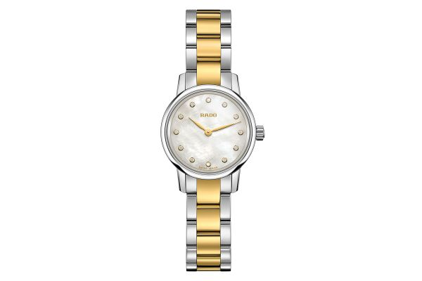 Large image of Rado Coupole Classic Two Tone Womens Watch - R22890952