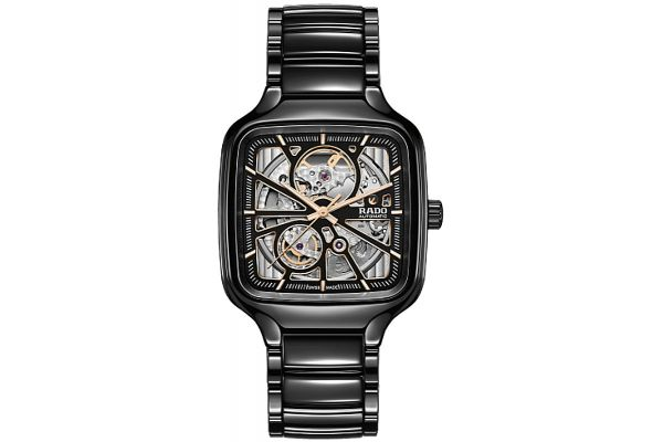Large image of Rado True Square Automatic Open Heart Mens Watch - R27086162