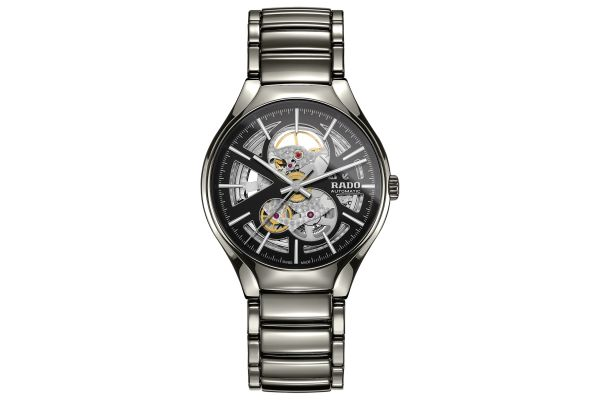 Large image of Rado True Automatic Open Heart Mens Watch - R27510152