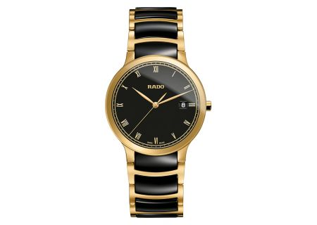 Rado Centrix Large Two Tone Mens Watch - R30527152