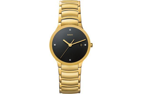 Rado Centrix Quartz Gold Tone Mens Watch - R30527713