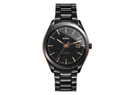 Rado 42mm Black Stainless Steel And Rose Gold HyperChrome Automatic  Mens Watch  - R32291152