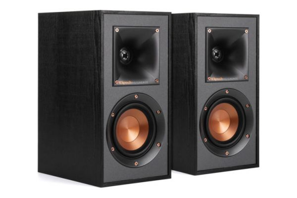 Large image of Klipsch Reference R-41M Black Bookshelf Speakers (Pair) - 1065838