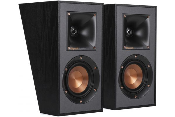 Large image of Klipsch Reference Black Dolby Atmos Elevation/Surround Speakers (Pair) - 1065840
