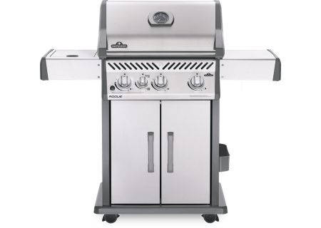 Napoleon Rogue 425 SIB Stainless Steel Liquid Propane Gas Freestanding Grill - R425SIBPSS