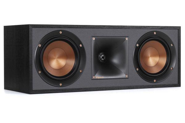 Large image of Klipsch Reference R52CBK Black Center Speaker - 1065836