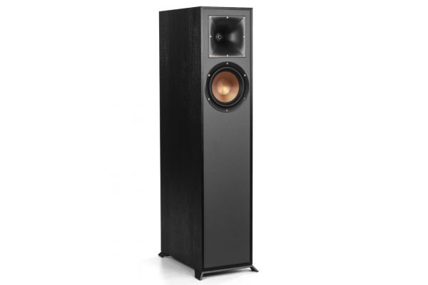 Large image of Klipsch Reference R610FBK Black Floorstanding Speaker (Each) - 1065835