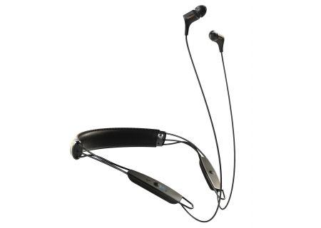 Klipsch Black Bluetooth R6 Wireless In-Ear Neckband Headphones - R6 NECKBAND BLK