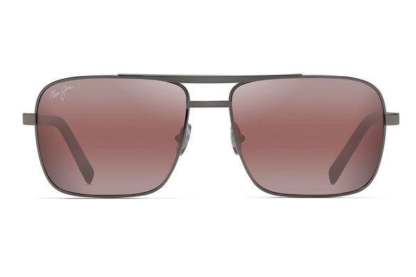 Large image of Maui Jim Aviator Polarized Maui Rose Unisex Sunglasses - R714-02D