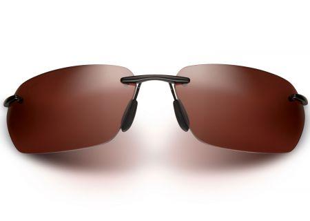 Maui Jim Alaka I Gloss Black Womens Sunglasses - R743-02
