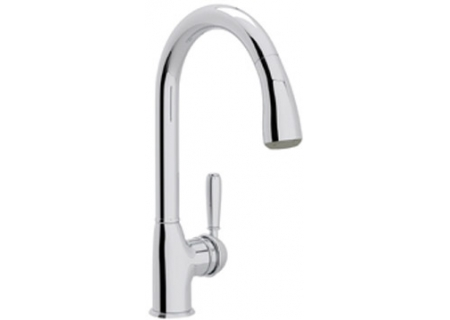 Rohl Polished Chrome Classic Pull-Down Kitchen Faucet - R7504LM/APC-2