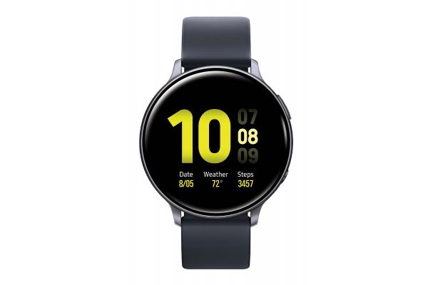 Large image of Samsung Aqua Black Galaxy 44mm Active2 Smartwatch - SM-R820NZKAXAR