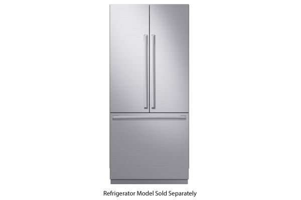 "Large image of Samsung 36"" Chef Collection Built-in Refrigerator Stainless Steel Accessory Kit - RAF36ACAAS4"