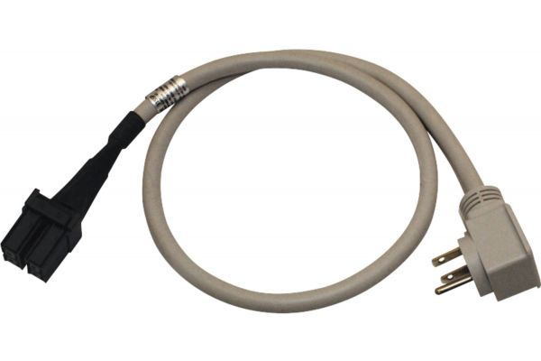 Large image of GE Zoneline AC 20 Amp (230/208V) Universal Short Power Cord Kit - RAK320SP
