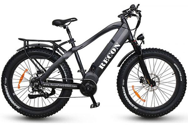 Large image of Recon Black Ranger Power Electric Bike - RANGERBK