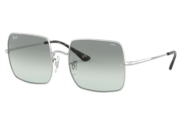 Large image of Ray-Ban Square 1971 Evolve Silver Light Blue Photocromic Sunglasses - RB19719149AD54