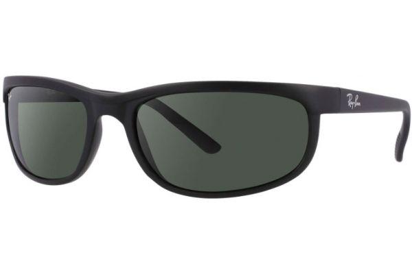Large image of Ray-Ban Predator 2 Green Classic Wrap Unisex Sunglasses - RB2027 W1847 62-19