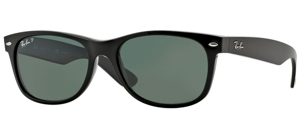 960d4e5b5496 Ray-Ban New Wayfarer Polarized 55mm Unisex Sunglasses - RB2132 901 58 55