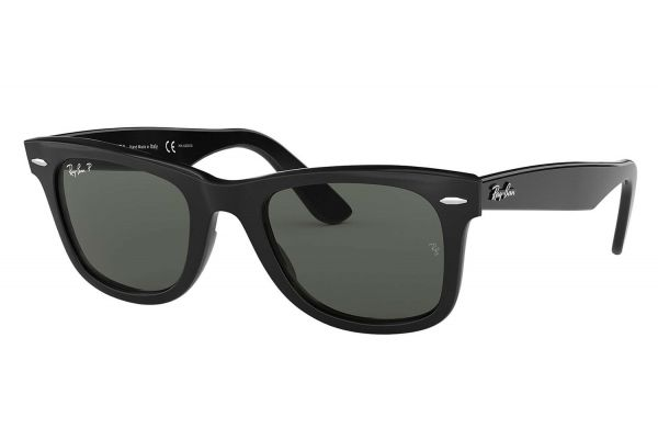 Large image of Ray-Ban Black Polarized Unisex Sunglasses - RB2140 901/58 50-22
