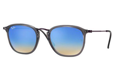 Ray-Ban Square Blue Gradient Flash Unisex Sunglasses - RB2448N62554O51