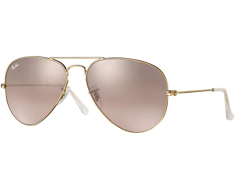 0737e44345 Ray-Ban Aviator Gold Unisex Sunglasses - RB3025 001 3E