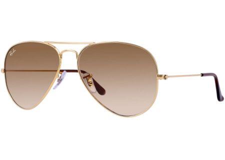 Ray-Ban Aviator Large Gold Unisex Sunglasses - RB3025 001/51 62