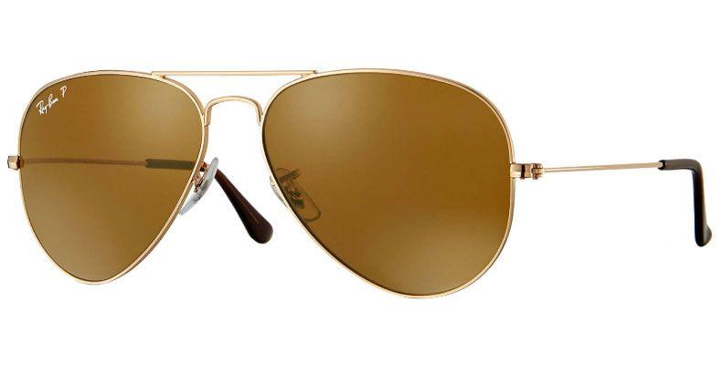 bc17be0de000 Ray-Ban Aviator Classic Polarized Unisex Sunglasses - RB3025 001/57 58-14