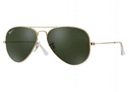 Ray-Ban Polarized Aviator Large Metal Arista Unisex Sunglasses - RB30250015862