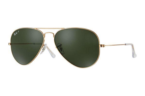 Large image of Ray-Ban Polarized Aviator Large Metal Arista Unisex Sunglasses - RB30250015862