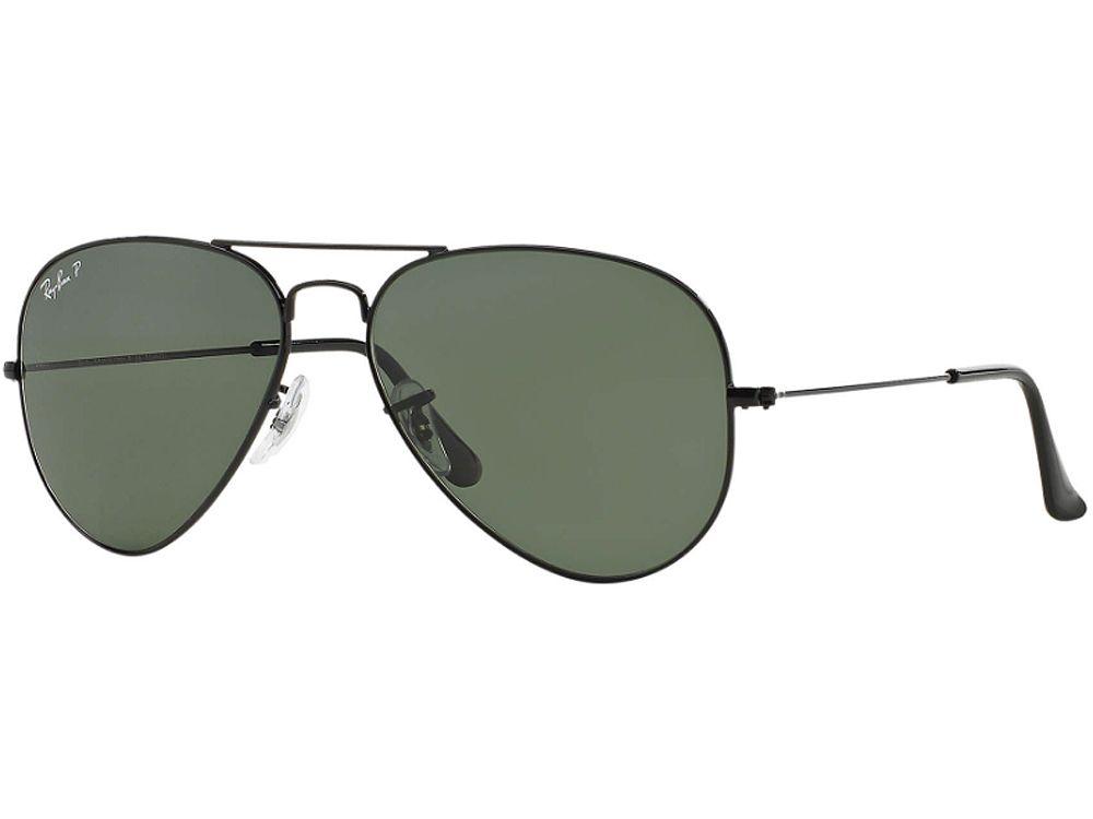 Ray-Ban Aviator Polarized Sunglasses - RB3025 002/58 58